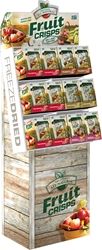 Freeze Dried Fruit Crisps Assorted Retail Display