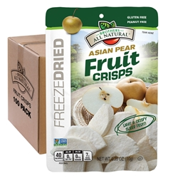 Wholesale Asian Pear Freeze Dried Fruit Crisps 100 pk