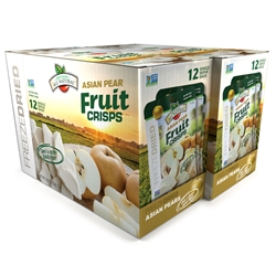 Wholesale Freeze Dried Asian Pear Fruit Crisps, 24 pk
