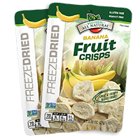Banana Fruit Crisps 24-pack