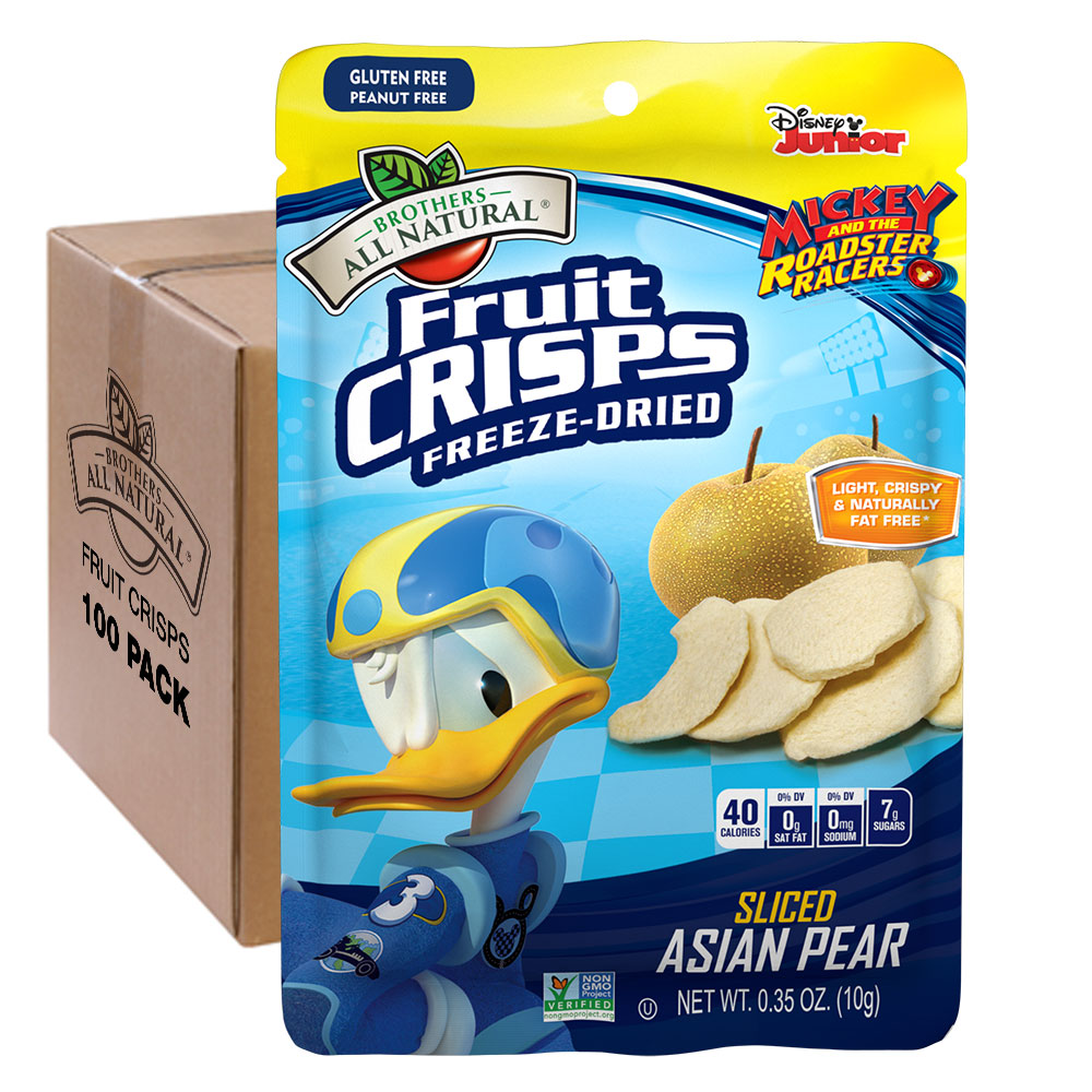 Wholesale Donald Duck Freeze Dried Asian Pears 100pk