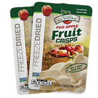 Fuji Apple 24 pack Wholesale Freeze Dried Apple Fruit Crisps 24 pack