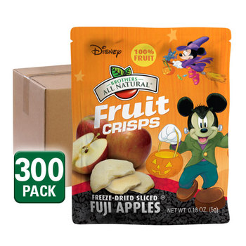 Halloween Mickey Mouse Apple Fruit Crisps ¼ bags 300-pack