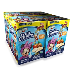 vWholesale Disney Freeze Dried Fruit Crisps Apple Cinnamon 24-pk 4x6