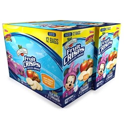 Wholesale Mickey Mouse Clubhouse Freeze Dried Fruit Snacks, Apple Cinnamon 24 pk