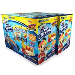 Wholesale Disney Variety Freeze Dried Fruit Crisps 24-pack (2x12)