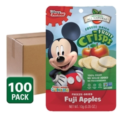 Wholesale Mickey Mouse Clubhouse Freeze Dried Fruit Snacks, Fuji Apple 100 pk