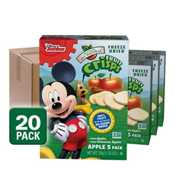 Wholesale Mickey Mouse Clubhouse Freeze Dried Mixed Apple Fruit Snacks 20-pack