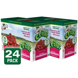 Wholesale Freeze Dried Strawberry Fruit Crisps, 24 pk